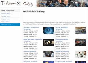 techniciansalary.org