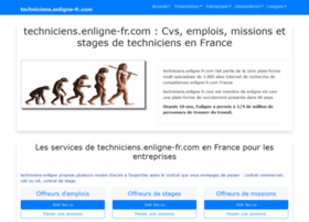 techniciens.enligne-fr.com