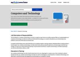 technology.myperfectcoverletter.com