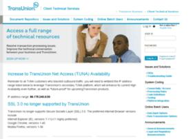 techservices.transunion.com