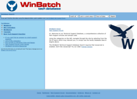 techsupt.winbatch.com