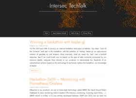 techtalk.intersec.com