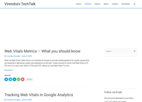 techtalk.virendrachandak.com