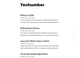 techumber.com