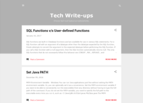 techwrite-ups.blogspot.in