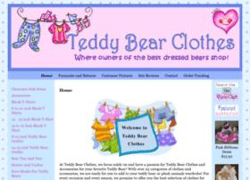 teddybearclothes.com