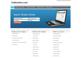 tedtenders.com