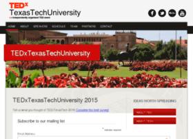 tedx.ttu.edu