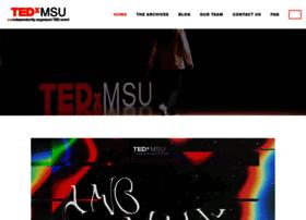 tedxmsu.org