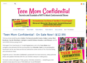 teenmomconfidential.com
