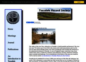 teesdalerecordsociety.org.uk