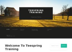 teespringtraining.com