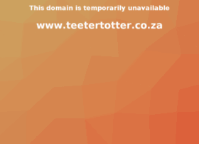 teetertotter.co.za