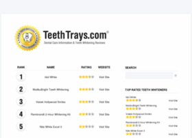 teethtrays.com