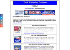 teethwhitenerproductreviews.com