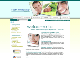 teethwhiteningexpress.com
