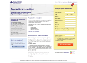 tegelzetters-vergelijken.nl