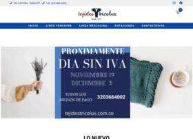 tejidostricolux.com.co