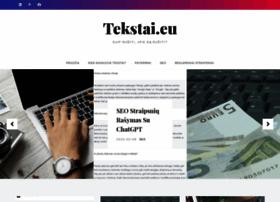 tekstai.eu