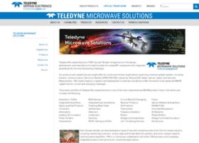 teledynemicrowave.com