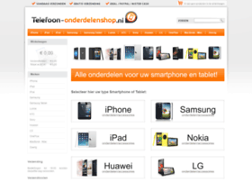 telefoon-onderdelenshop.nl