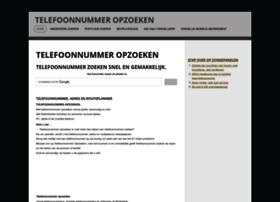 telefoonnummer-opzoeken.nl
