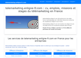 telemarketing.enligne-fr.com