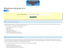 telephonereverse411.com