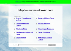 telephonereverselookup.com
