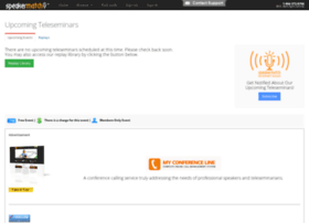 teleseminars.speakermatch.com