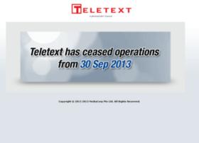 teletext.sg