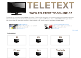 teletext.tv-on-line.cz