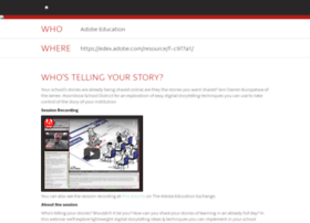 telling-your-story.attendease.com