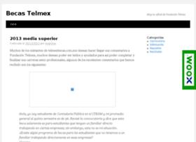 telmexbecas.com.mx