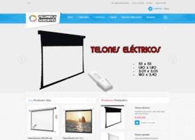 telonesysoportesparavideobeam.com