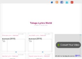 telugulyriciworld.blogspot.in