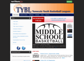 temeculayouthbasketball.sportssignup.com