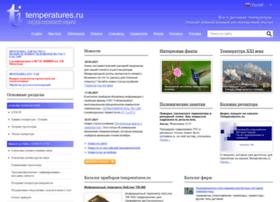 temperatures.ru