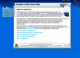 template-toolkit.org