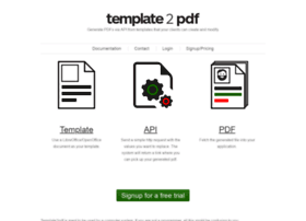 template2pdf.com