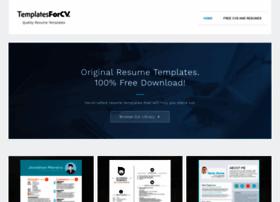 templatesforcv.com