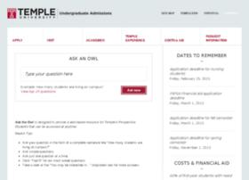 temple.intelliresponse.com
