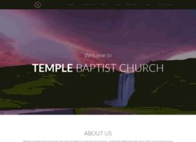 templebaptistchurch.org