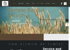 templebaptistonline.org