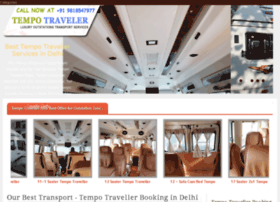 tempotraveller.org.in