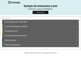temps-et-mesures.com