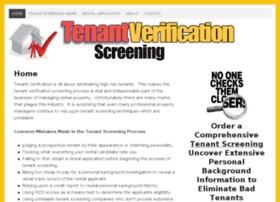 tenantverificationscreening.com