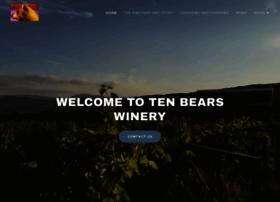 tenbearswinery.com