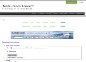 tenerife-restaurante.com