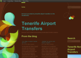 tenerifeairporttransfers.blog.com